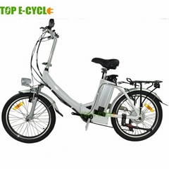 TOP E-cycle folding ebike small electric bicycle for sale