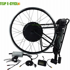 TOP E-cycle 48V 1000W electric bike kit with EN15194