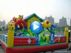儿童充氣城堡