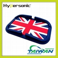 HP3518 Hypersonic TPE car union jack fabric mobile phone holder 1