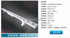 戶外工程專用LED洗牆燈