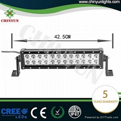 Hot selling 72w straight light bar with long lifespan