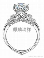 麒麟瑞祥守护至爱钻石饰品