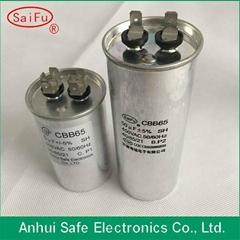 high quality ac dual capacitor cbb65