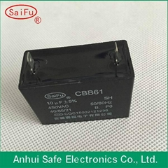 High Quality cbb61 ceiling fan capacitor