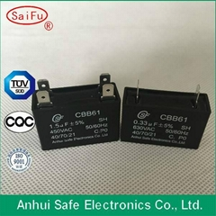 High Quality ac motor run capacitor cbb61