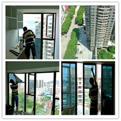 广州家居玻璃门窗隔热防晒贴膜