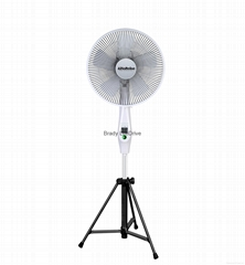 Newest popular 16 inch DC brushless fan with remote control
