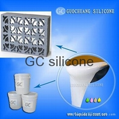 rtv condensation cure liquid silicone for concrete stone and rock veneer molds