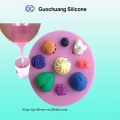 rtv2 food grade platinum cure silicone rubber for cake candy mold making