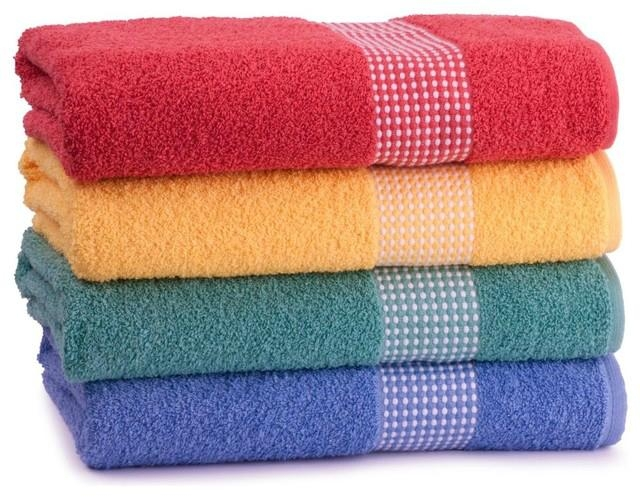 Wholesale High Quality Dobby 100% Cotton Bath Towel, 5 Star Hotel Bath Towel 1