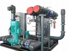 采暖用水水汽水智能換熱機組成套設備