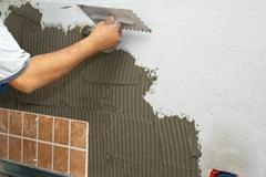 Grey Tile Adhesive for wall