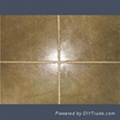 coarse coloured tile grout