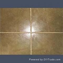 coarse coloured tile grout