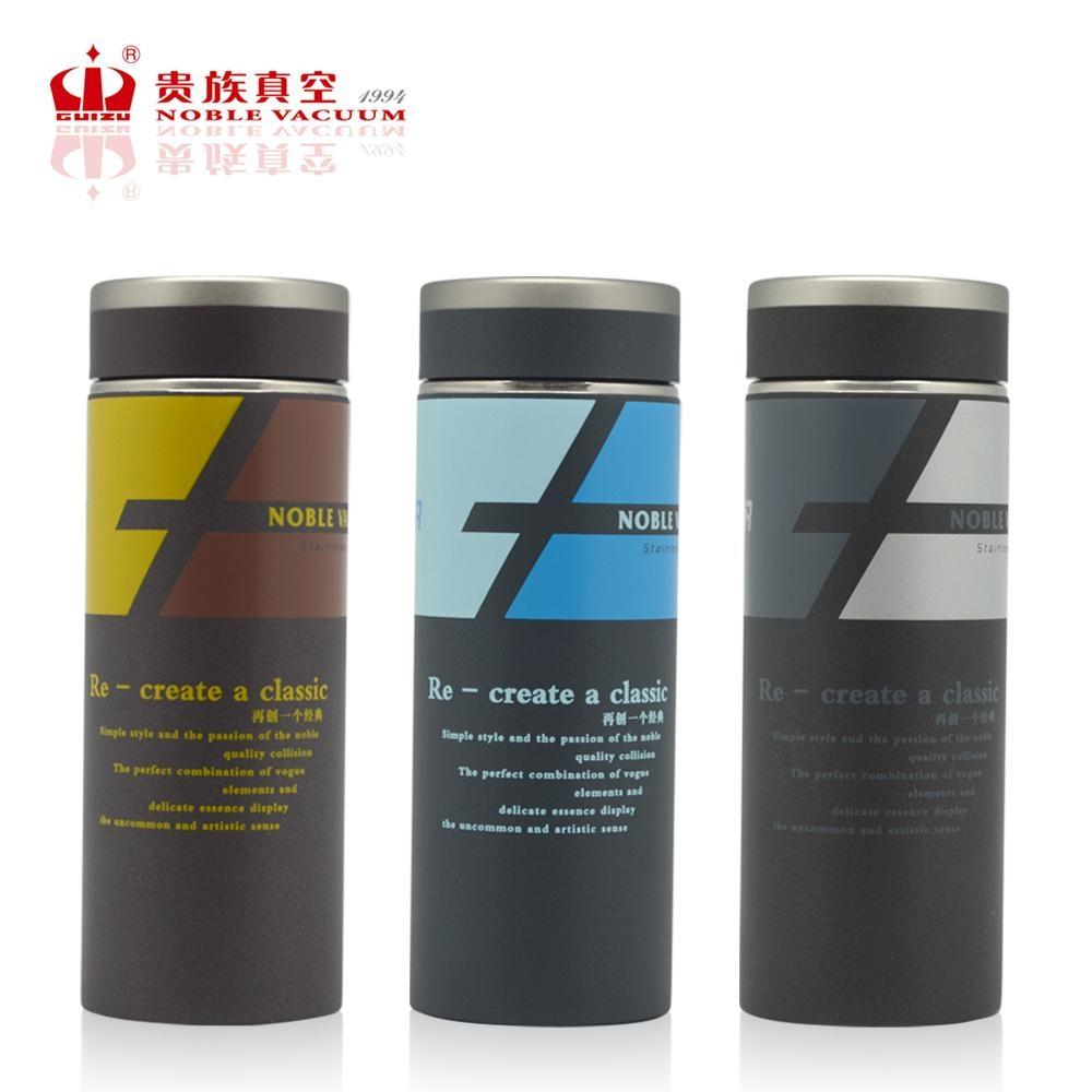 Double wall elegant stainless steel vacuum flask thermal mug KALE 1