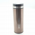 Double wall stainless steel vacuum flask thermal mug cup BLUESKY-1 2