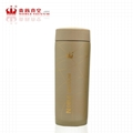 Double wall stainless steel vacuum flask thermal mug car cup 2