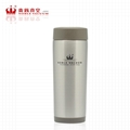 Double wall stainless steel vacuum flask thermal mug car cup 4