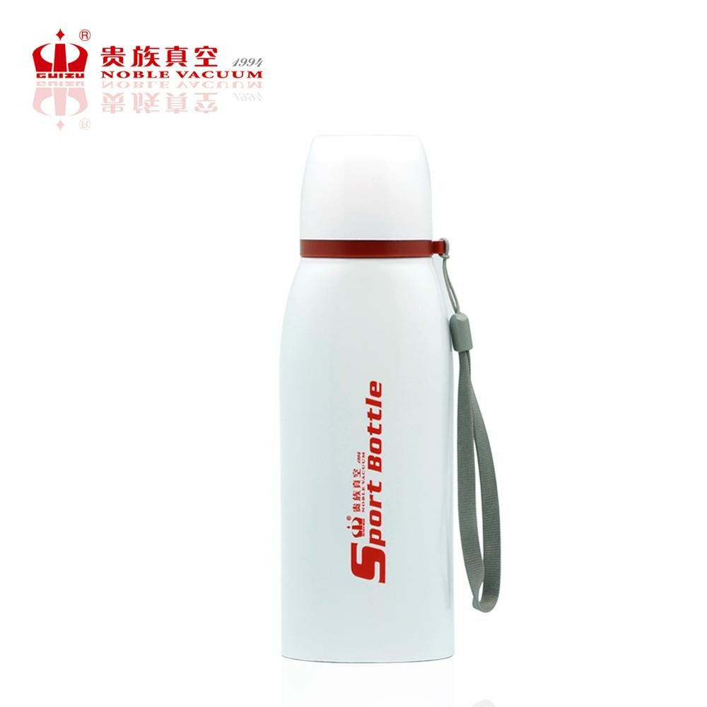 Double wall stainless steel FLAT sports bottle vacuum flask thermal mug 5