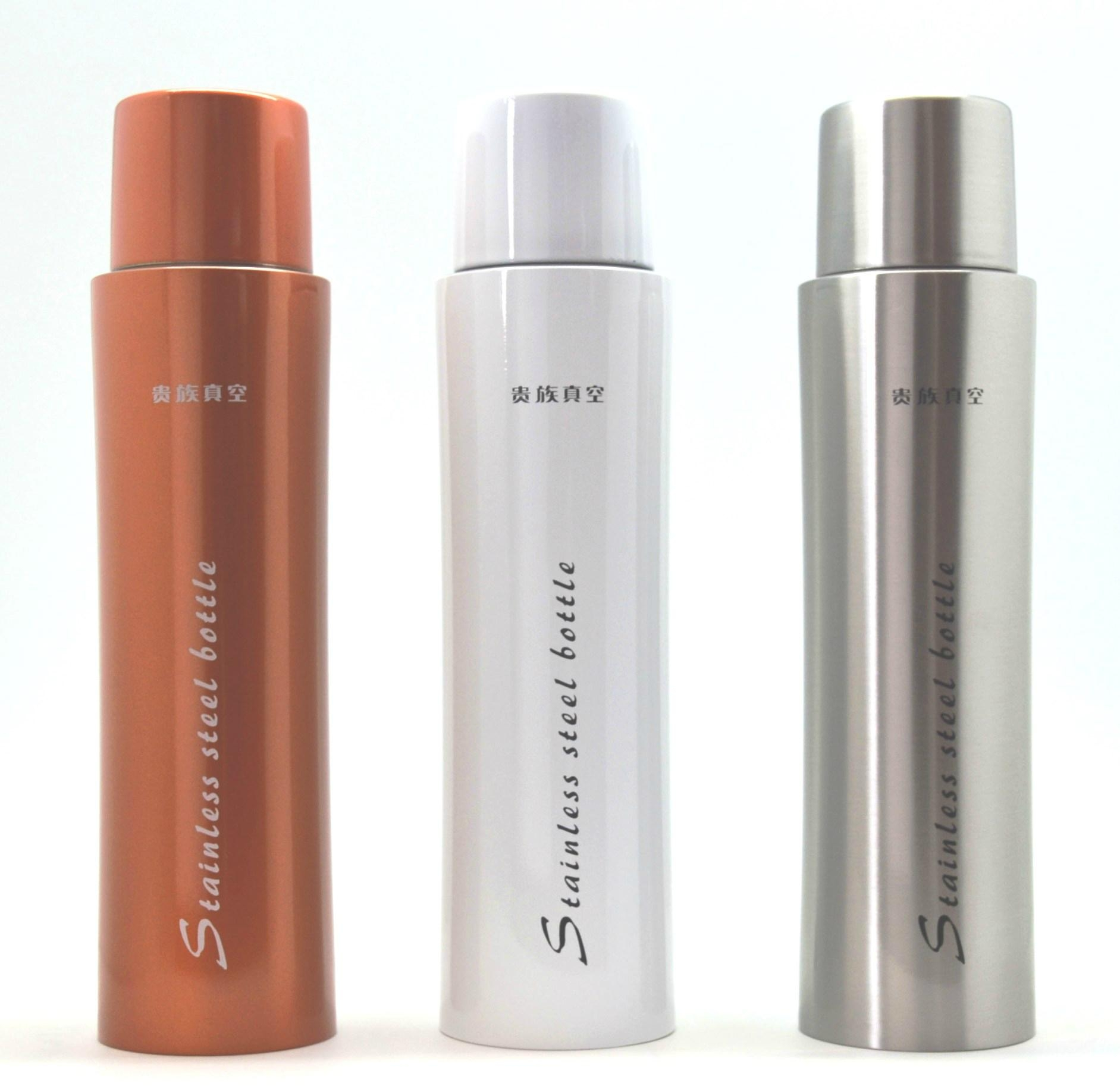 Double wall stainless steel sports bottle vacuum flask thermal travel mug 2
