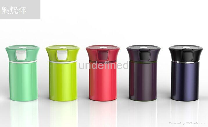 Double wall stainless steel vacuum food container 1