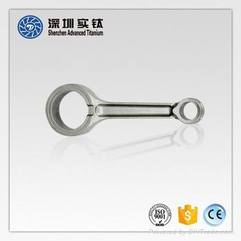 Titanium Alloy Casting and Forged Connecting Rod for Sale 3