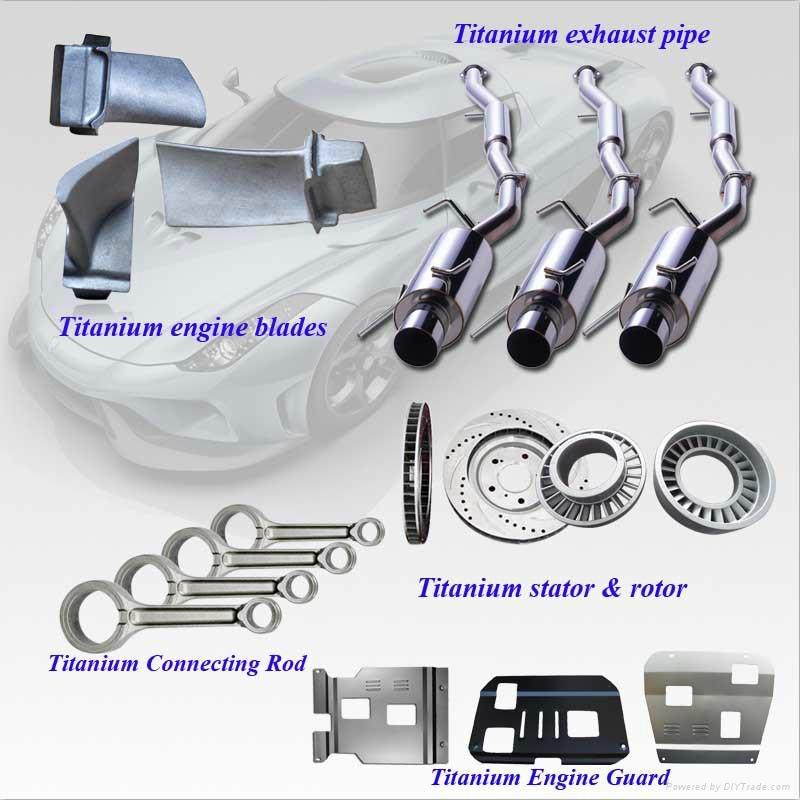 Super Performance Titanium Alloy Auto Parts for Sale 1
