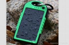 solar waterproof mobile power bank
