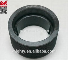 poly V belt Pulley with 8 grooves and taper hole