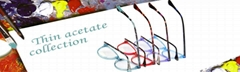 New trend design super thin acetate optical eyewear frames eyeglasses hot sell