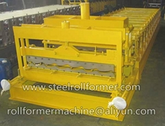 roof tile metal steel roll forming machine