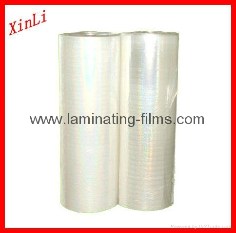 XinLi BOPP Holographic  thermal lamination film 1