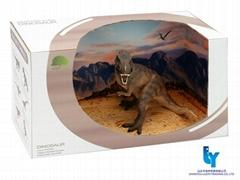 Tyrannosaurus model toy