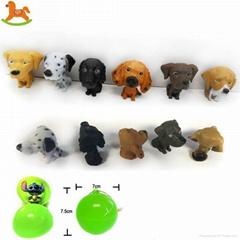 PVC dog figurines toy