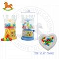 New crown shape candy machine dispenser