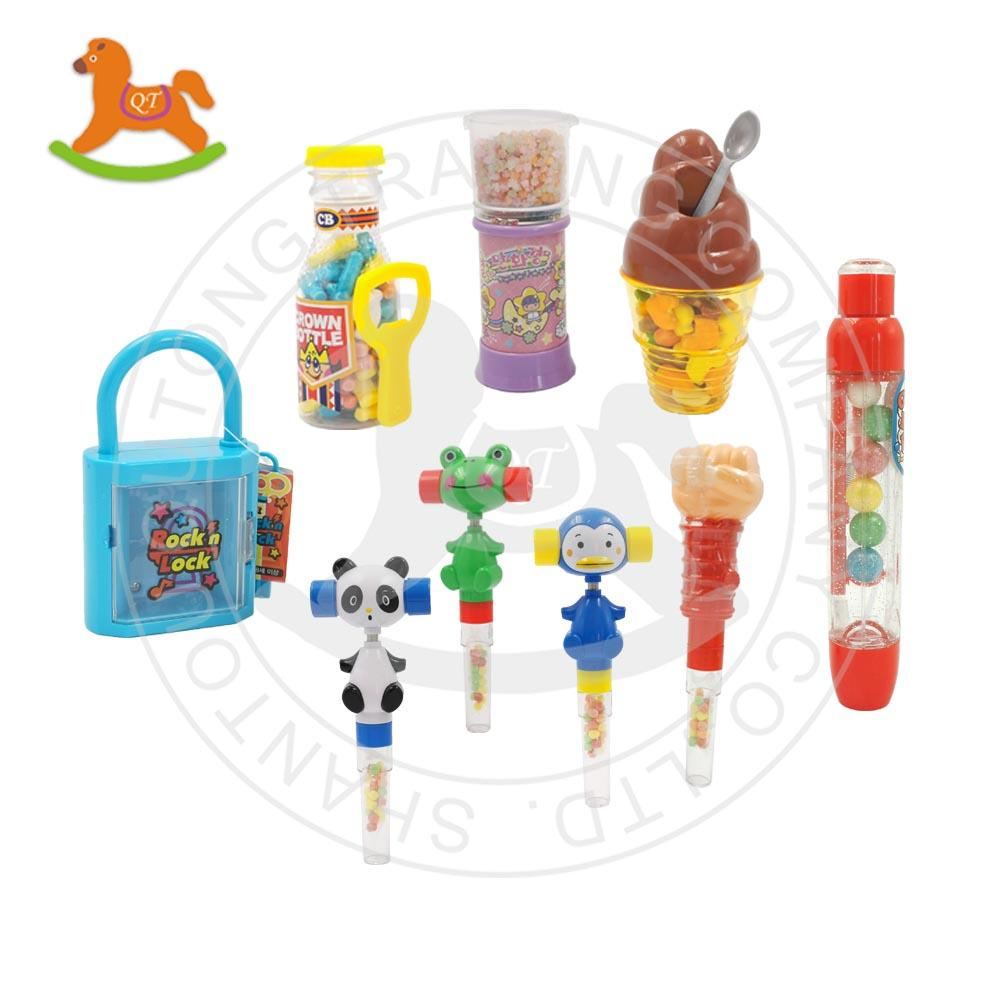Colorful kaleidoscope toy with sweet candy 4