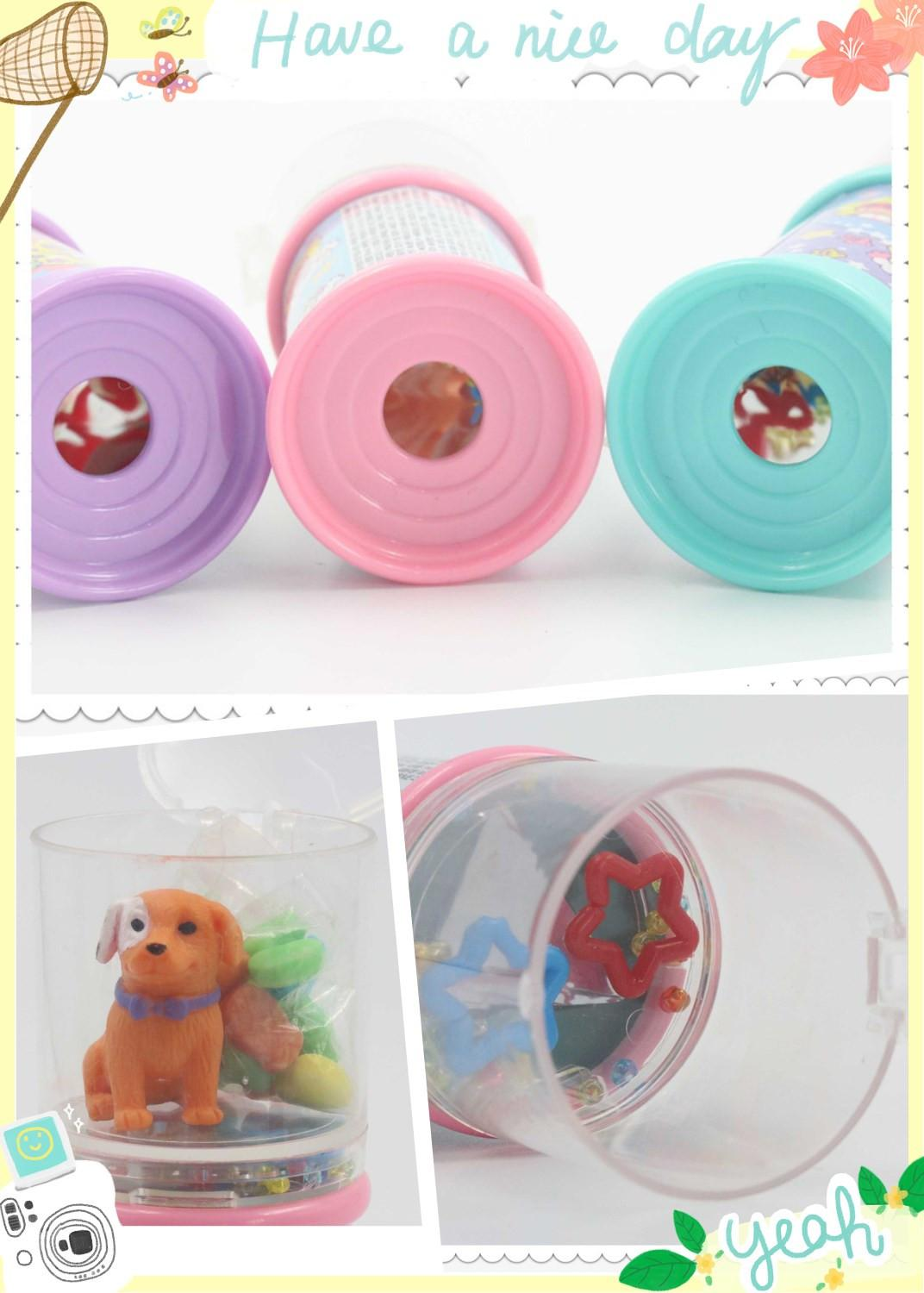 Colorful kaleidoscope toy with sweet candy 2