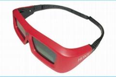 universal active shutter 3d glasses USB Rechargeable Active Shutter Xpand 3D Gla