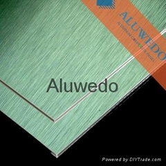 Aluwedo®  aluminum composite panels for machinery Industry