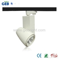 30W COB LED Track Light Spot, 85-265VAC for Clothing Store Lighting with CE RoHS 4