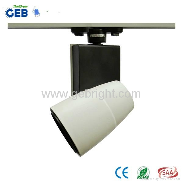 30W COB LED Track Light Spot, 85-265VAC for Clothing Store Lighting with CE RoHS 5