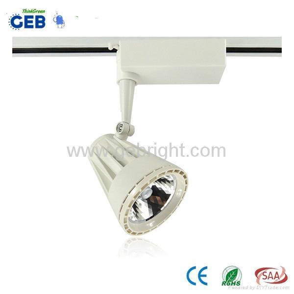 CE/RoHS 20W 3 Phase COB LED Track Spot Light 4