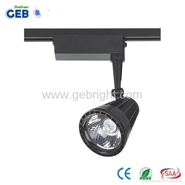 CE/RoHS 20W 3 Phase COB LED Track Spot Light 2