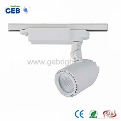 Small MOQ 110-240VAC 24° Beam Angel 30W LED COB Track Lights