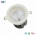 8W/12W CRI>80 Recessed COB Downlight