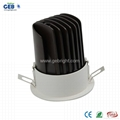 8W/12W CRI>80 Recessed COB Downlight with 85-265V AC Input Voltage 2