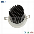 8W/12W CRI>80 Recessed COB Downlight with 85-265V AC Input Voltage 4