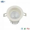 8W/12W CRI>80 Recessed COB Downlight with 85-265V AC Input Voltage 5
