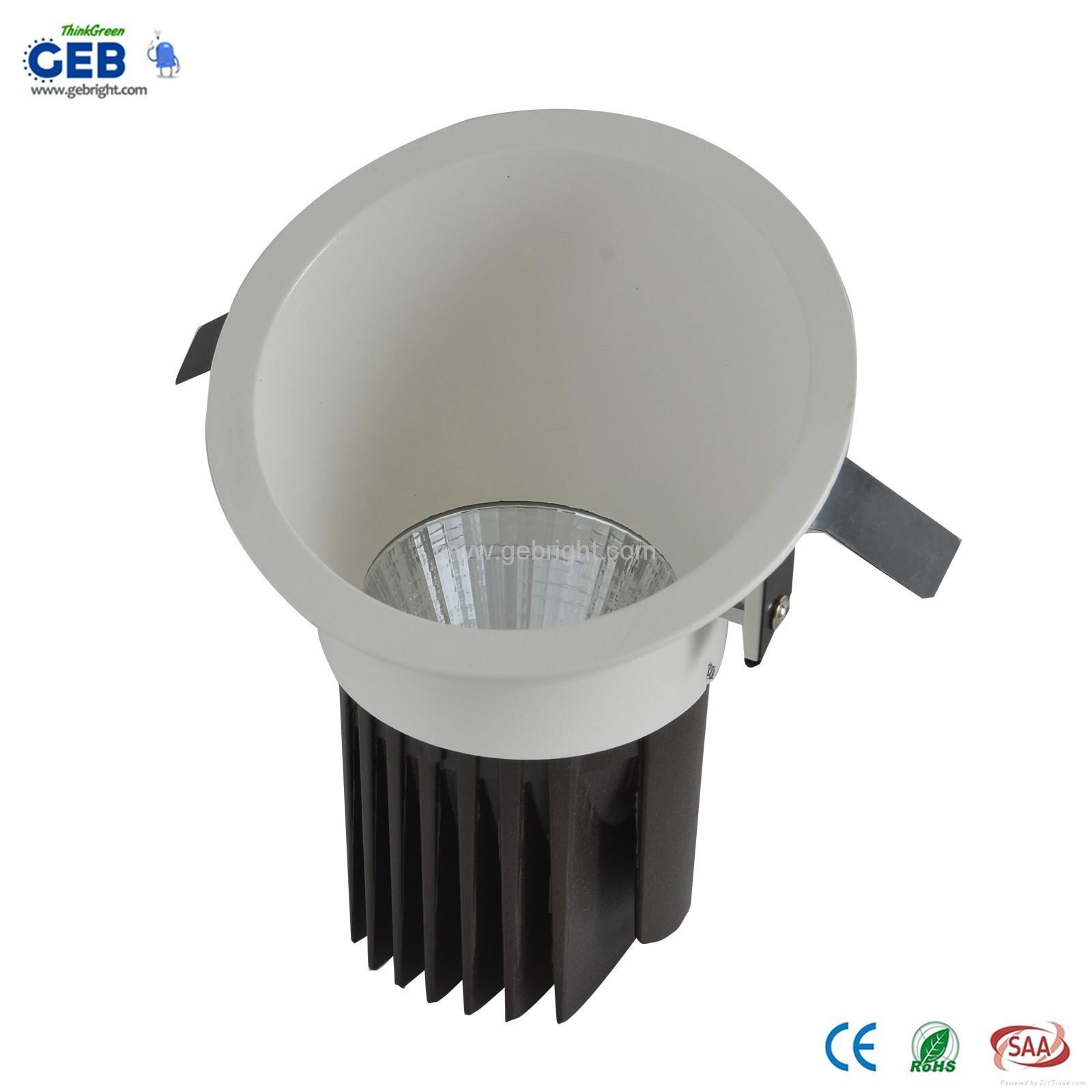 8W 85-265VAC 800lm LED COB Downlight Recessed Lighting 1